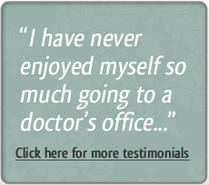 Click here for more testimonials