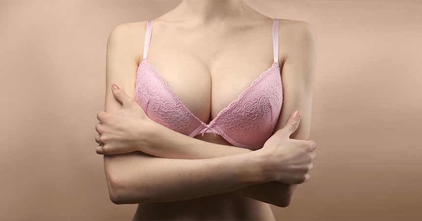The patient will go home in a bra with only light dressings over the incision lines and will wear it for about 4 weeks.